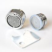 Wasserspar-Strahlregler mit Außengewinde M24x1, diebstahlsicher (Mischdüse, Luftsprudler)